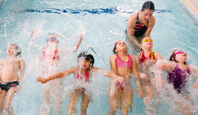 Mäkelänrinne uimakoulut