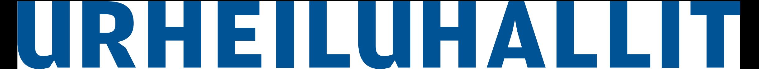 urheiluhallit logo
